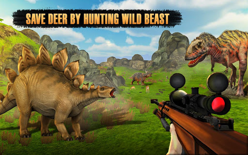 Dinosaurs Hunter Wild Jungle Animals Safari 3.4 screenshots 5