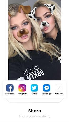 Sweet Snap Face Camera - Live Filter Selfie Edit 1.5 Screenshots 16