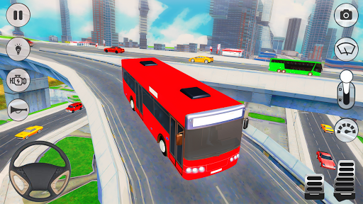 City Coach Bus Driver 3D Bus Simulator APK MOD (Astuce) screenshots 4