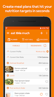 Eat This Much - Meal Planner for pc