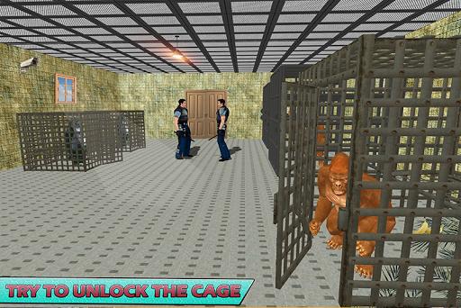 Gorilla Escape City Jail Survival screenshots 4
