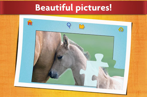 Horse Jigsaw Puzzles Game - For Kids & Adults ud83dudc34 android2mod screenshots 5