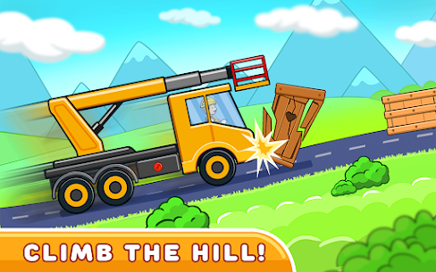 Car games for kids: building and hill racing Apk Download 3