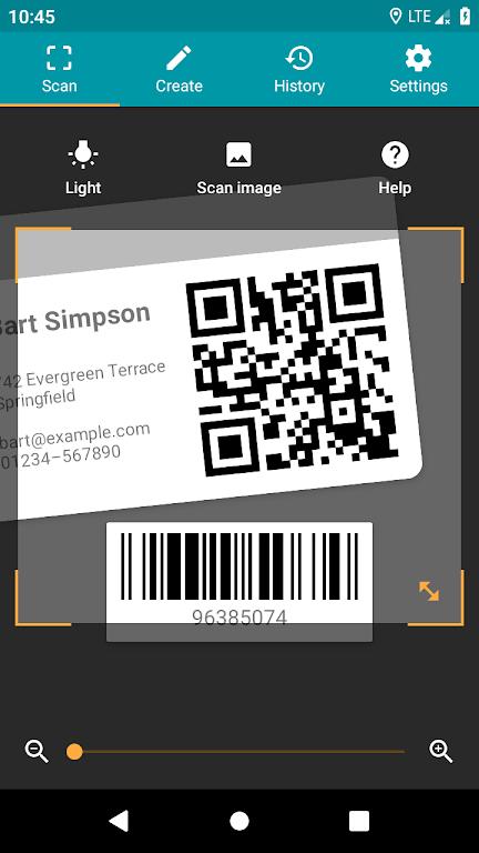 QR & Barcode Reader (Pro)  poster 0