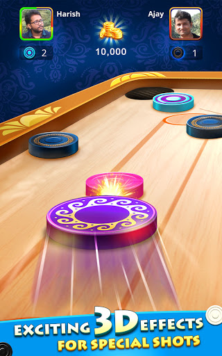 World Of Carrom : 3D Board Game android2mod screenshots 3