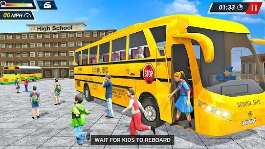 Offroad High School Bus Simulator Free 2