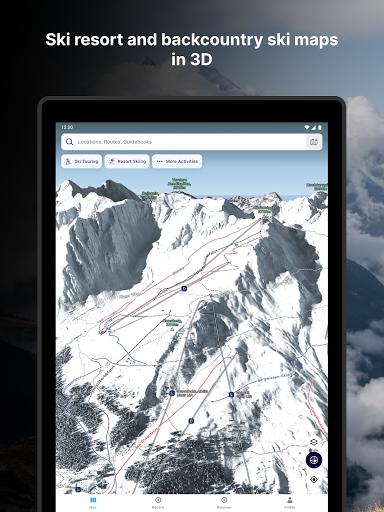 FATMAP: Hike, Bike, Ski Trails - 3D Outdoor Maps apktram screenshots 11