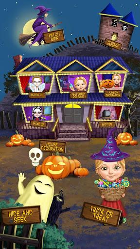 Sweet Baby Girl Halloween Fun screenshots 1