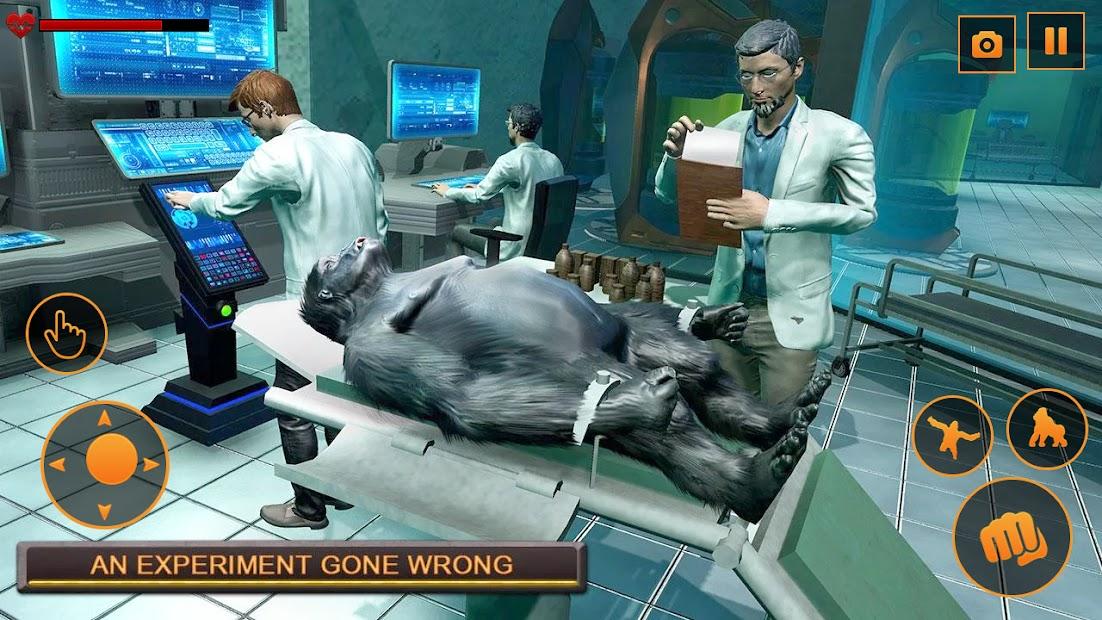 Captura de Pantalla 17 de Angry Monster Gorilla - Godzilla King Kong Games para android