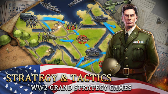 World War 2: WW2 Grand Strategy Games Simulator