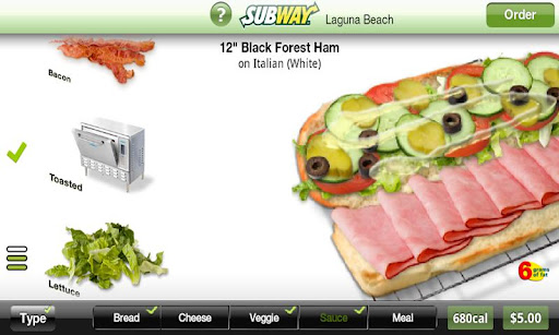 Subway Ordering for California For PC Windows (7, 8, 10, 10X) & Mac Computer Image Number- 5