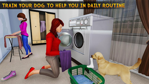 Family Pet Dog Home Adventure Game  screenshots 10
