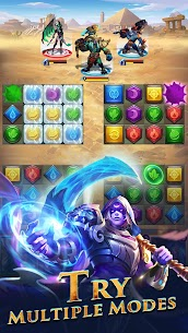 War and Wit: Heroes Match 3 APK MOD HACK (Always Skill) 2