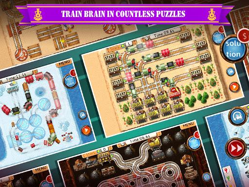 Rail Maze 2 : Train puzzler screenshots 7
