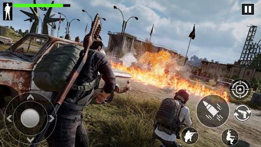 Télécharger FPS Commando One Man Army - Free Shooting Games  APK MOD (Astuce) screenshots 1
