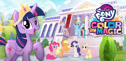 - My Little Pony Color By Magic - Apps On Google Play
