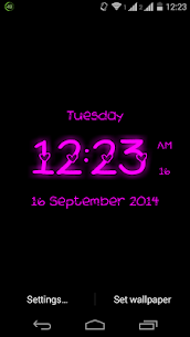 Super Digital Clock Live Wallpaper 1.13 Mod APK Latest Version 1