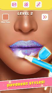 Lip Art Makeup Artist - Relaxing Girl Art Games