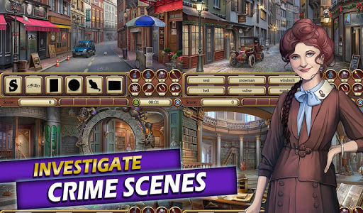 Time Crimes Case: Free Hidden Object Mystery Game 3.94 screenshots 2
