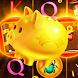 Sweet Golden Piggy Bank