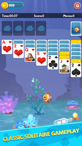 Solitaire Fish Farming 1.0.3 screenshots 1