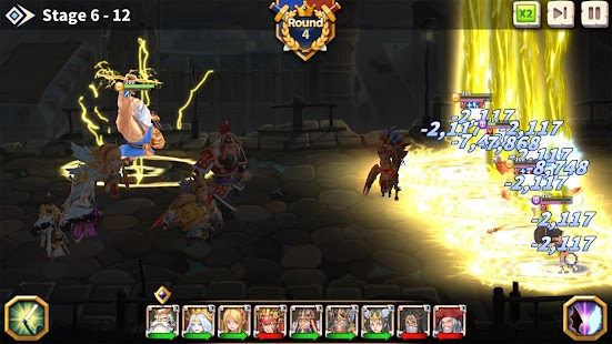 WITH HEROES - IDLE RPG Screenshot