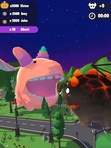 Dragon Wars io: Merge Dragons & Smash the City  screenshots 12
