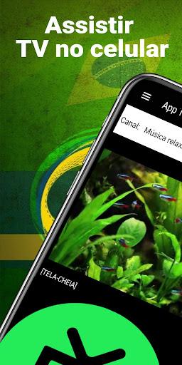 App TV ao vivo - player de TV aberta ao vivo apktram screenshots 2