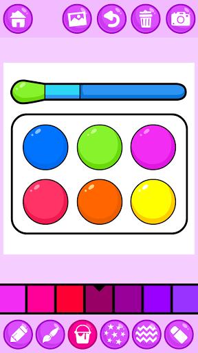 Beauty Makeup: Glitter Coloring Game for Girls 3.0 screenshots 4