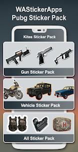 PUBG Stickers for WhatsApp – WA PUBG Stickers Pack 4