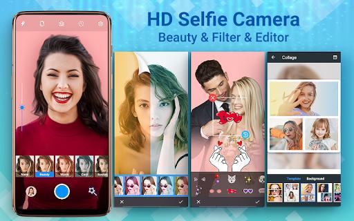 HD Camera Selfie Beauty Camera  Screenshots 1