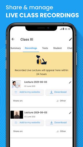Teachmint - Free Live Teaching App, Teach Online android2mod screenshots 6