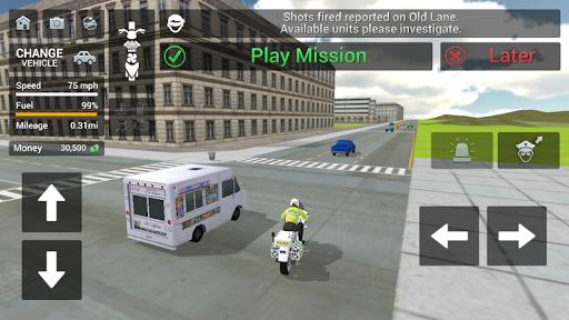 Police Car Driving - Motorbike Riding 1.32 screenshots 6