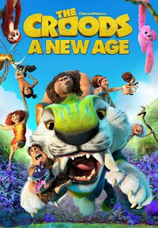 """alt=""""The Croods have survived their fair share of dangers and disasters, from fanged prehistoric beasts to surviving the end of the world, but now they will face their biggest challenge of all: another family. The Croods need a new place to live. So, the first prehistoric family sets off into the world in search of a safer place to call home. When they discover an idyllic walled-in paradise that meets all their needs, they think their problems are solved ... except for one thing. Another family already lives there: the Bettermans. The Bettermans (emphasis on the """"better"""")-with their elaborate tree house, amazing inventions and irrigated acres of fresh produce-are a couple of steps above the Croods on the evolutionary ladder. When they take the Croods in as the world's first houseguests, it isn't long before tensions escalate between the cave family and the modern family. Just when all seems lost, a new threat will propel both families on an epic adventure outside the safety of the wall, one that will force them to embrace their differences, draw strength from each other and forge a future together. The Croods: A New Age features the voice talent of returning stars Nicolas Cage as Grug Crood, Catherine Keener as Ugga Crood, Emma Stone as their daughter, Eep; Ryan Reynolds as Eep's boyfriend, Guy; Clark Duke (Hot Tub Time Machine) as Thunk and Cloris Leachman as Gran. They're joined by new stars Peter Dinklage (HBO's Game of Thrones) as Phil Betterman, Leslie Mann (Blockers) as Hope Betterman, and Kelly Marie Tran (Star Wars: Episode VIII-The Last Jedi) as their daughter, Dawn. The film is directed by Joel Crawford, who has worked on multiple DreamWorks Animation films, including Trolls and the Kung Fu Panda franchise, and is produced by Mark Swift (Captain Underpants: The First Epic Movie, Madagascar 3: Europe's Most Wanted).    CAST AND CREDITS  Actors Nicolas Cage, Emma Stone, Ryan Reynolds, Catherine Keener, Cloris Leachman, Clark Duke, Leslie Mann, Peter Dinklage"""