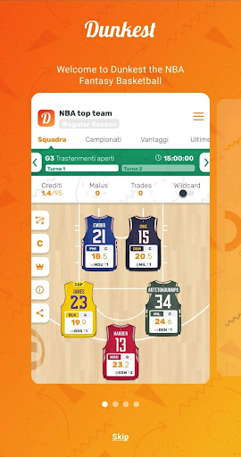 Dunkest - Fantasy Basketball android2mod screenshots 2