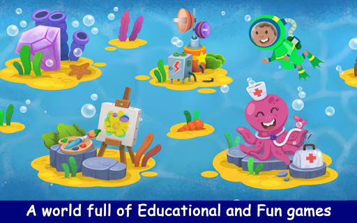 Kiddos under the Sea : Fun Early Learning Games 1.0.3 screenshots 2