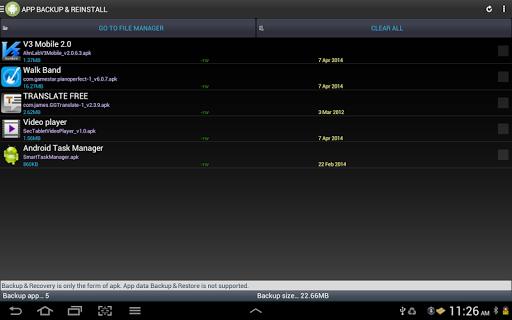 Smart App Manager 3.5.6 screenshots 12