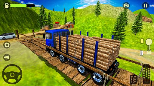 offroad transport truck simulator:truck drive 2019 screenshot 2