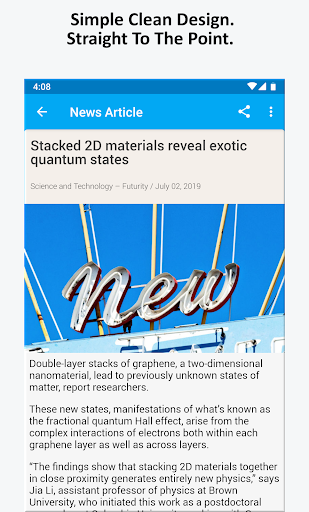 Science News, Videos, & Social Media 3.0 Screenshots 5