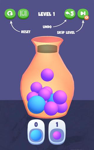 Ball Fit Puzzle 3D: Sort Ball Puzzle & Fit The Jar 0.0.3 screenshots 2