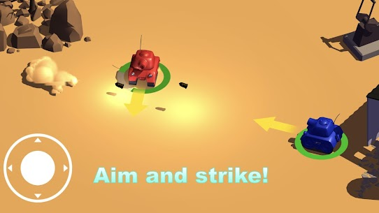 Tank Battle Online Match Hack for iOS and Android 2