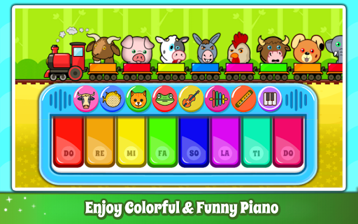 Baby Piano Games & Music for Kids & Toddlers Free 4.0 Screenshots 2