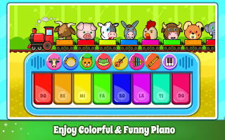 Baby Piano Games & Music for Kids & Toddlers Free