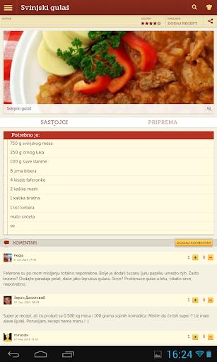 Recepti - Kuvar 1.0.11 Screenshots 8