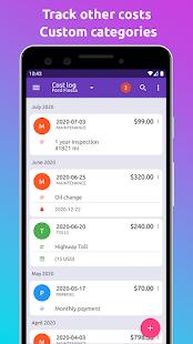 Fuelio: gas log, costs, car management, GPS routes 7.11.5 Screenshots 4