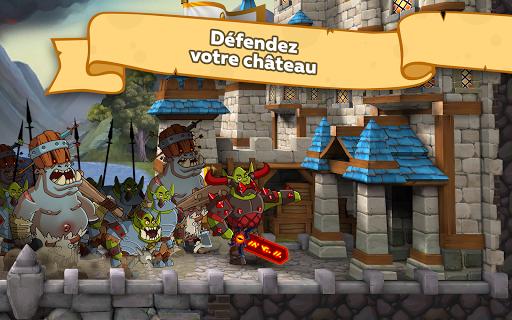 Télécharger gratuit Hustle Castle: Jeu d'Aventure & Château Médiéval! APK MOD 1