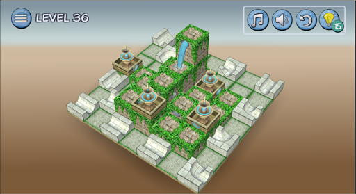 Flow Water Fountain 3D Puzzle 1.2 Screenshots 21