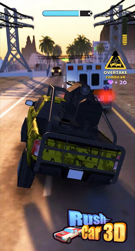 Rush Car 3D 1.0.3 screenshots 1