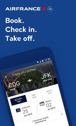 Air France - Airline tickets 5.1.0 Screenshots 1