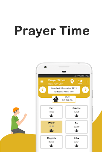 🕋 SALAT : Prayer Time , Azan or Du'a (Muslim) 🕌 15.1 screenshots 1